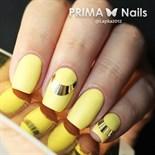Металлизированные наклейки Prima Nails