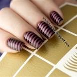 Виниловые Трафареты для дизайна ногтей Kaleidoscope
