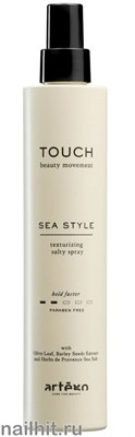 270993 Artego Touch Солевой спрей для волос 200мл Sea Style - фото 183130