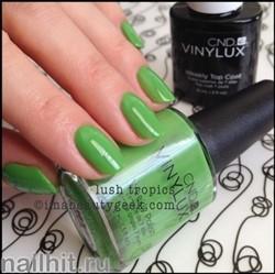 170 VINYLUX CND Lush Tropics (Ярко-зеленый. травяной, плотный, эмалевый)