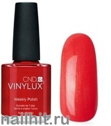 172 VINYLUX CND Fine Vermilion (Рыжий, терракотовый, плотный, с микроблеском)