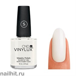 108 VINYLUX CND Cream Puff (Ярко-белый, плотный, без перламутра, для френча)