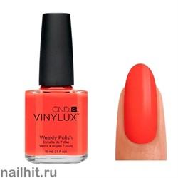 112 VINYLUX CND Electric Orange (Ярко-оранжевый, плотный, без перламутра)