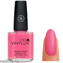116 VINYLUX CND Gotcha (Розовый, плотный, без перламутра)