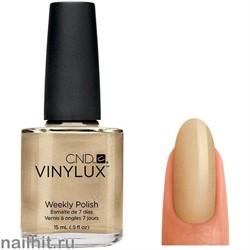 128 VINYLUX CND Locket Love (Цвет золота, плотный, с блестками)