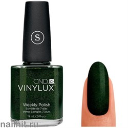 137 VINYLUX CND Pretty Poison (Темно-зеленый, плотный, с микроблеском)