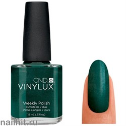 147 VINYLUX CND Serene Green (Темно-зеленый, плотный, с микроблеском)