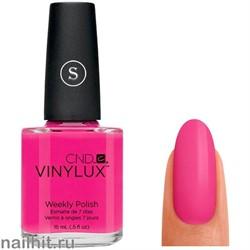 155 VINYLUX CND Tutti Frutti (Цвет фуксии, плотный, с перламутром)