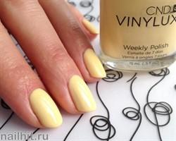 165 VINYLUX CND Sun Bleached (Желтый, плотный, пастельный, без блесток и перламутра)