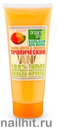 12864 Organic Shop Бальзам для волос ТРОПИЧЕСКИЙ MANGO СИЛА ЦВЕТА& ЗАЩИТА 200мл