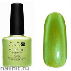 Limeade Color Shellac CND (Салатовый с микроблеском, плотный)