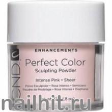 Perfect Intense Pink Sheer CND 22гр (Акриловая пудра прозрачная, розовый оттенок)