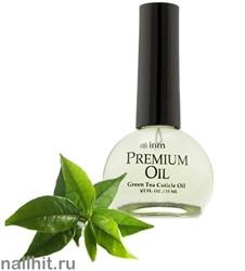 7619 Масло для кутикулы Premium Cuticle Oil INM 15мл (Зеленый чай)