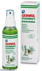 111130825 Gehwol Fusskraft krauterlotion Травяной лосьон для ног 150мл