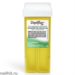 Depilflax Воск в картридже Натуральный 110гр (Кристаллический воск)