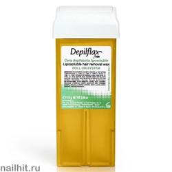 Depilflax Воск в картридже Золото 110гр (Воск с радужными пигментами)