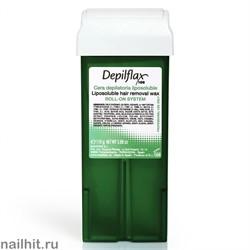 Depilflax Воск в картридже Алое вера 110гр (Воск с радужными пигментами)