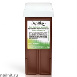 Depilflax Воск в картридже Шоколадный 110гр (Кремовый воск)