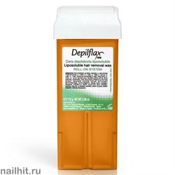 Depilflax Воск в картридже Морковный 110гр (Кремовый воск)