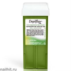 Depilflax Воск в картридже Оливковый 110гр (Кристаллический воск)