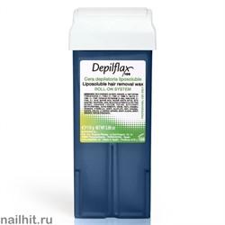 Depilflax Воск в картридже Азуленовый 110гр (Кристаллический воск)