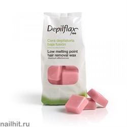 Горячий воск - Розовый Depilflax 1000гр