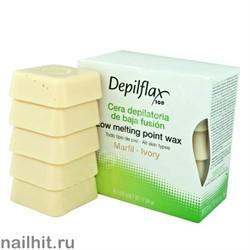 Горячий воск - Слоновая кость Depilflax 500гр