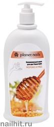 22350 Увлажняющий крем для рук Planet Nails  Молоко и мед  500мл