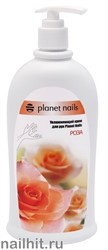22349 Увлажняющий крем для рук Planet Nails  Роза  500мл