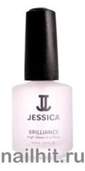 170 Jessica Brilliance Быстросохнущее верхнее покрытие с блеском  14,8мл