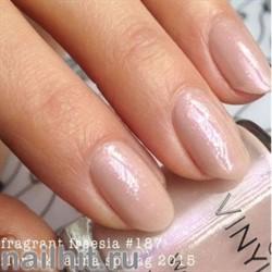 187 VINYLUX CND Fragrant Freesia (Нежно-розовый, с микроблестками, плотный)