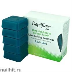 Горячий воск - Азуленовый (синий) Depilflax 500гр