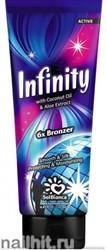 8251 SolBianca Infinity 125мл 8818 Крем для загара  экстракт грецкого ореха и карамель (6*Bronzer)