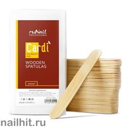 1443 RuNail Шпатели деревянные Cardi 100 шт