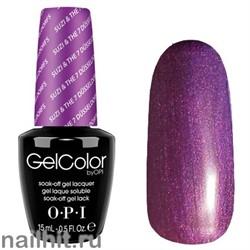 G23 Suzi & the 7 Dusseldorfs Gelcolor OPI 15мл (Фиолетовый с микроблеском, плотный)