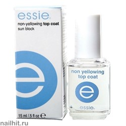 Нежелтеющее верхнее покрытие 15мл (Non-yellowing top coat Essie)