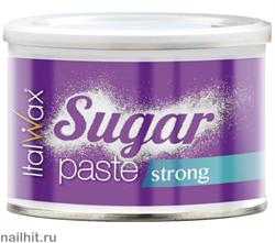 4259 White Line Сахарная паста для шугаринга в банке  Твердая  400гр