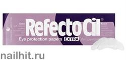 3080182 RefectoCil Бумага защитная под глаза Extra 80шт в упаковке