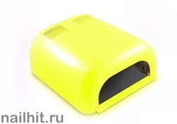 УФ-лампа (Выдвижнoe днo, желто-лимонная, глянцевая) 36 Вт