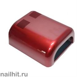 УФ-лампа (Выдвижнoe днo, бордовая, глянцевая) 36 Вт