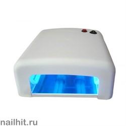 УФ-лампа 36 Вт (С таймером на 120 сек и бесконечность) Белая