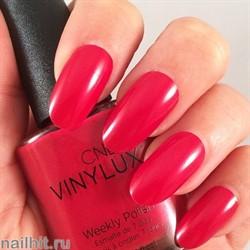 196 VINYLUX CND Tartan Punk (Ярко-красный, с микроблеском, плотный) Осень 2015