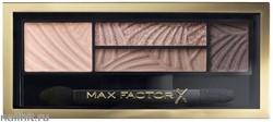 Max Factor Тени для век и бровей (2в1)  4-цветные Smoky Eye Drama, цвет №01 Opulent Nudes