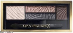 Max Factor Тени для век и бровей (2в1)  4-цветные Smoky Eye Drama, цвет №02 Lavish Onyx