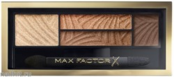 Max Factor Тени для век и бровей (2в1)  4-цветные Smoky Eye Drama, цвет №03 Sumptuous Golds