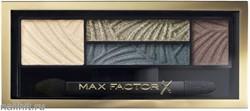 Max Factor Тени для век и бровей (2в1)  4-цветные Smoky Eye Drama, цвет №05 Magnetic Jades