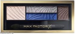 Max Factor Тени для век и бровей (2в1)  4-цветные Smoky Eye Drama, цвет №06 Azzure Allure