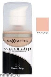 MF Тональная основа Colour Adapt 34мл, тон №55 (Blushing Beige)
