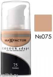 MF Тональная основа Colour Adapt 34мл, тон №75 (Golden)