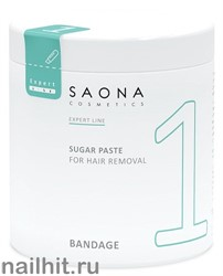 0401 Saona Cosmetics Сахарная паста №1 Бандажная  1000гр  BANDAGE
